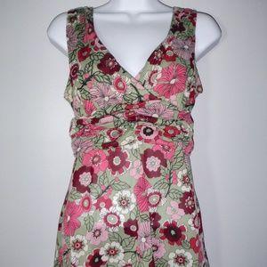 Lovely summer floral gauze tank <$$$